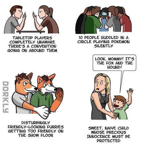 Nerds auf Conventions 6