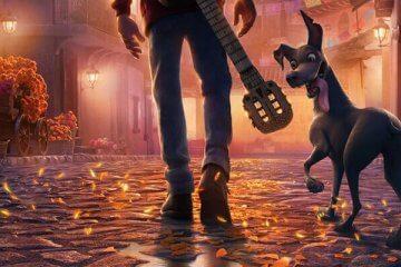 Cover von Pixars Coco (Junge mit Hund)