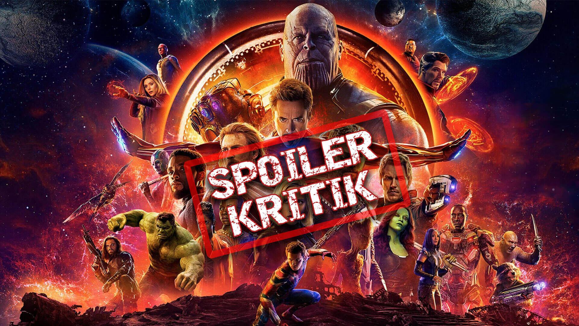Filmkritik mit Spoilern: Avengers: Infinity War | Nerdizismus Folge 55