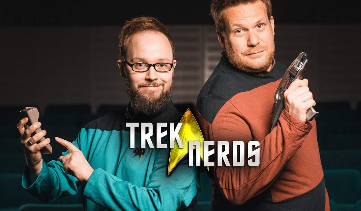 Chris und Michael vom Star Trek Podcast Trek Nerds