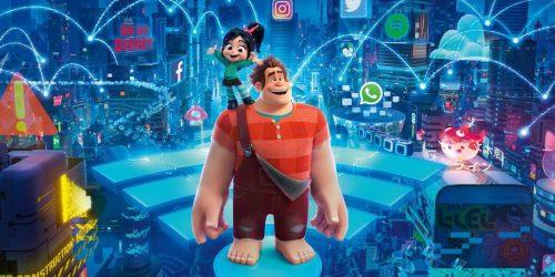Poster zu Disneys Ralph Reichts 2 mit Ralph und Vanellope